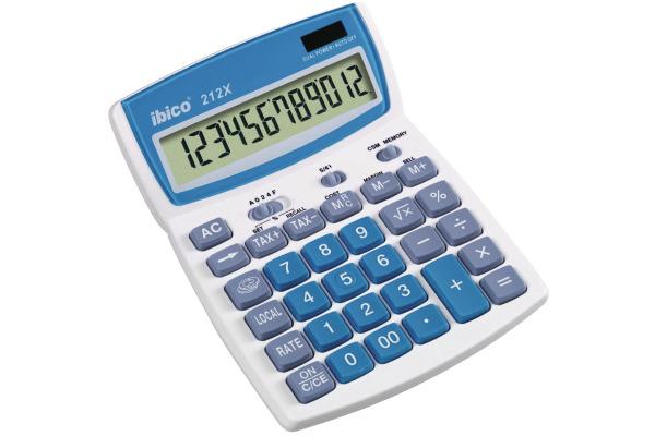 IBICO Taschenrechner 212X IB410086 12-stellig
