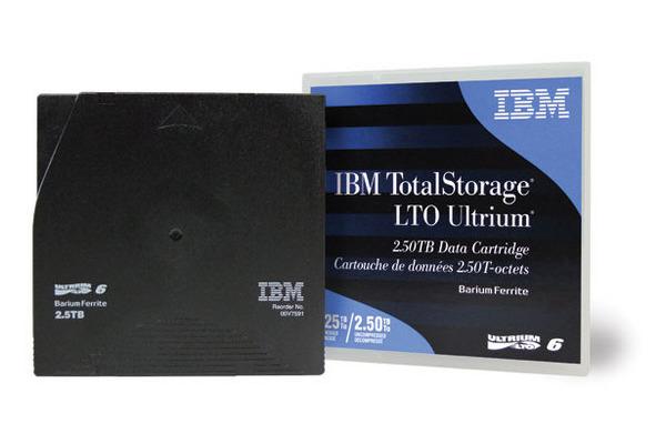 IBM LTO Ultrium 6 2.5/6.25TB 00V7590 Data Tape