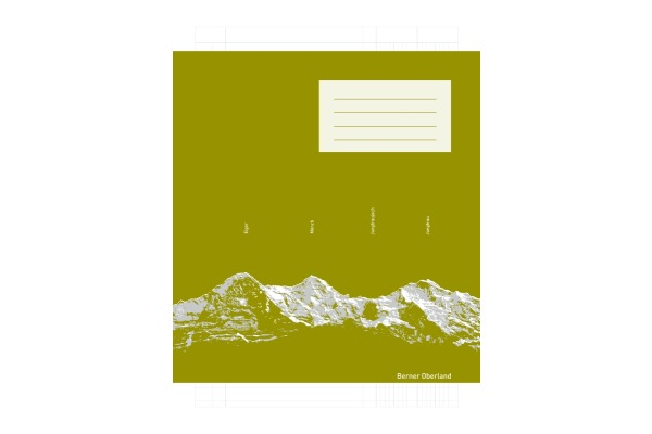 INGOLD-B. Schulheft A4 02.0424.B weiss, 90g 25 Stück