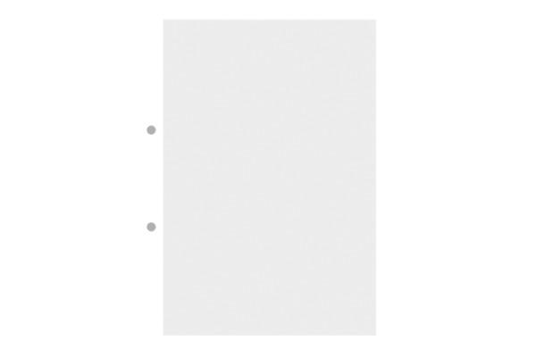 INGOLD-B. Heftblätter A4 02.342.44 500 Blatt