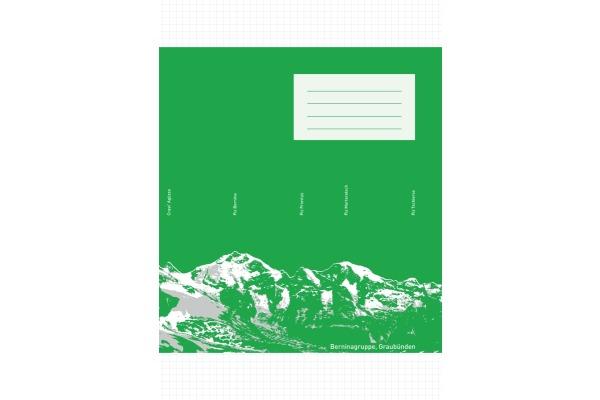 INGOLD-B. Schulheft A4 02.9420.5 grau, 80g 25 Stück
