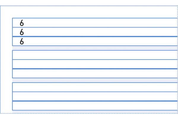 INGOLD-B. Basisline Heft A4 0420.1841 weiss, 90g 25 Stück