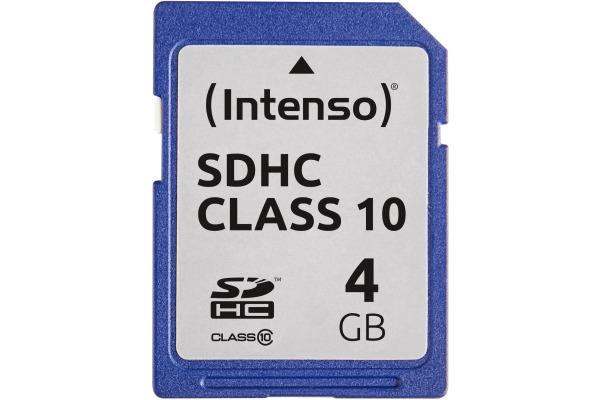 INTENSO SDHC Card Class 10 4GB 3411450