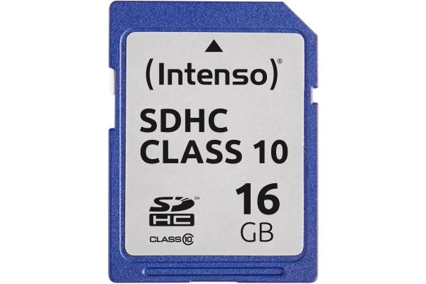 INTENSO SDHC Card Class 10 16GB 3411470