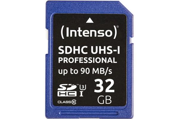 INTENSO SDHC Card PRO 32GB 3431480 UHS-I