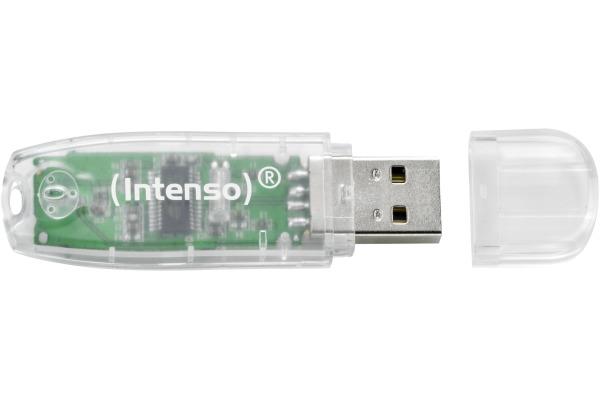 INTENSO USB-Stick Rainbow Line 32GB 3502480 USB 2.0 transparent