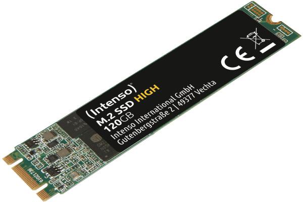 INTENSO SSD M.2 -2.5 inch SATA III 3833430 TLC Flash 120GB