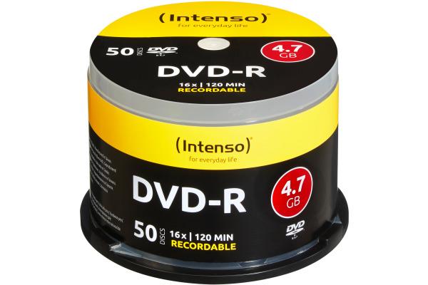INTENSO DVD-R Cake Box 4.7GB 4101155 16x 50 Pcs