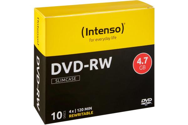 INTENSO DVD-RW Slim 4.7GB 4201632 4x 10 Pcs