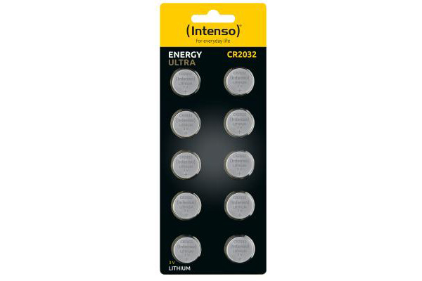 INTENSO Energy Ultra CR 2032 7502430 lithium bc 10pcs...