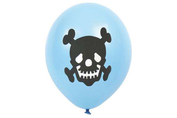 JABADABAD Luftballons Piraten B2002 blau 21x11x0.1cm