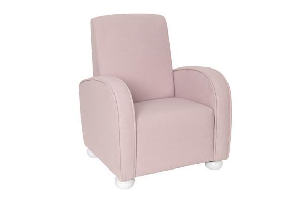 JABADABAD Sessel luxus K066 pink H20, 46x44x40cm