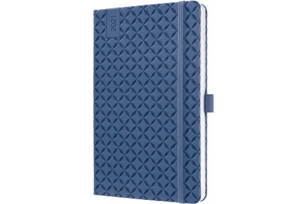 JOLIE Wochenkalender 2021 J1101 indigo blue,135x203x16mm