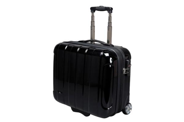 JUSCHA Business Trolley schwarz 45513 ABS-Polycarbonatmix 43x40x21cm