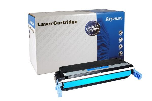 KEYMAX RMC-Toner-Modul cyan C9731A zu HP CLJ 5500 12´000 Seiten