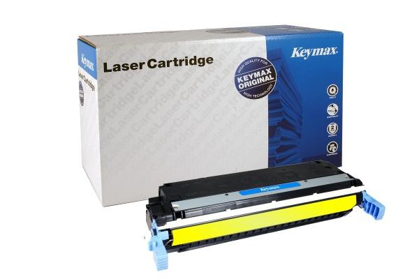 KEYMAX RMC-Toner-Modul yellow C9732A zu HP CLJ 5500 12´000 Seiten