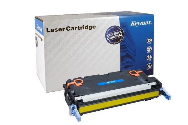 KEYMAX RMC-Toner-Modul yellow Q7582A zu HP CLJ 3800 6000 Seiten
