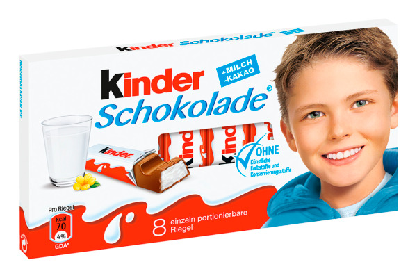 KINDER Schokolade 8632 100g