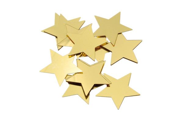 KNORR Aluflitter Stern gold 30mm 216377774 20 Stück