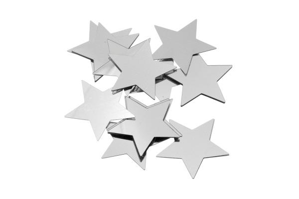 KNORR Aluflitter Stern silber 30mm 216377775 20 Stück