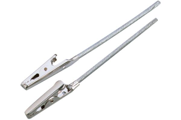 KNORR PRANDELL Krokodilklammer 120mm 2674033 mit Stab 4 Stück