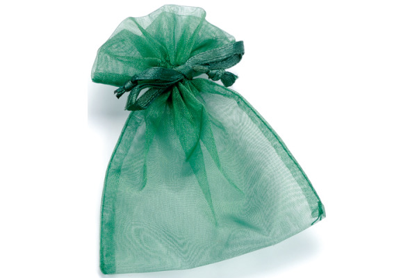 KNORR Organzasäckchen 13x10cm 6399590 grün
