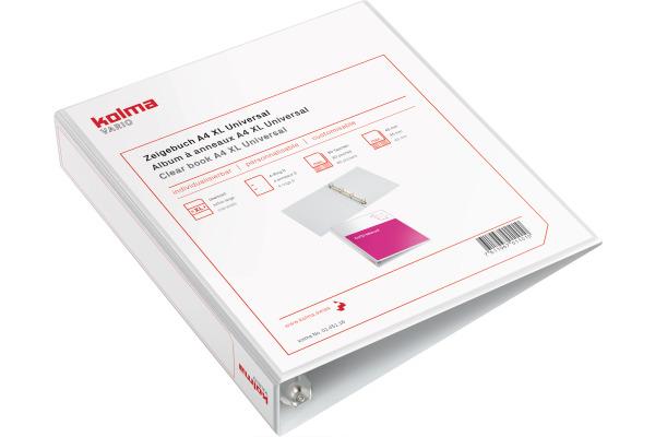 KOLMA Zeigebuch Vario XL Universal A4 01.451.16 weiss,...