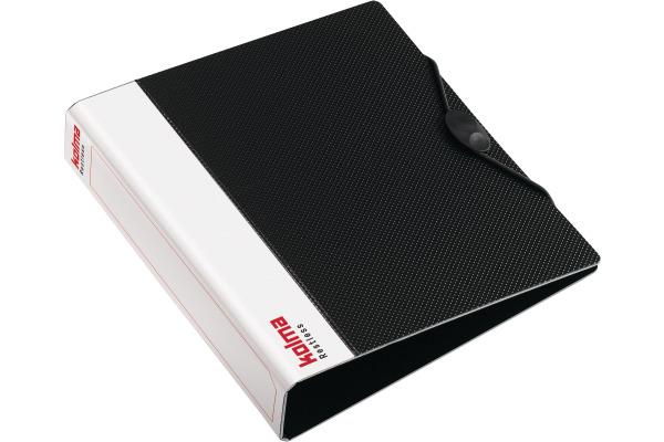 KOLMA Ringbuch A5 02.104.06 schwarz