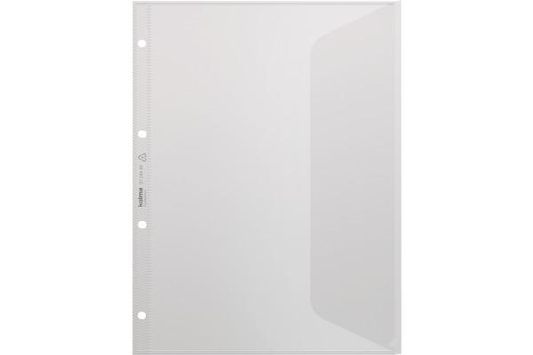 KOLMA Dokuhülle CopyResistant A4 07.244.00 farblos, Seitenklappe