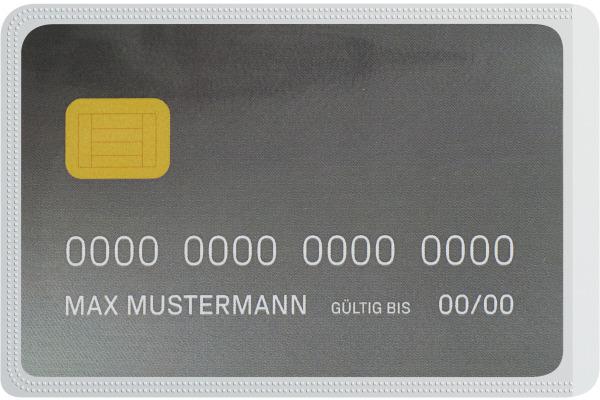 KOLMA Ausweishülle 86x54mm 09.140.00 trans.,Kreditkart.,ExtraSolid
