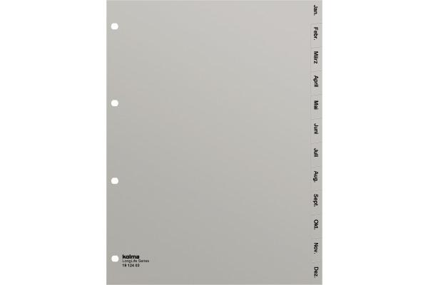KOLMA Register PVC A4 19.124.03 Jan.-Dez.