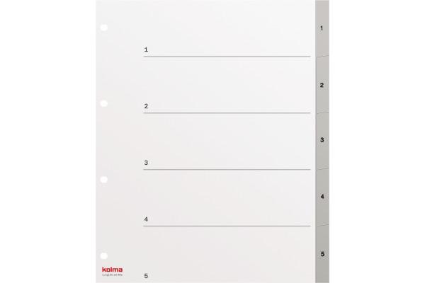 KOLMA Register PVC XL A4 19.405.03 1-5