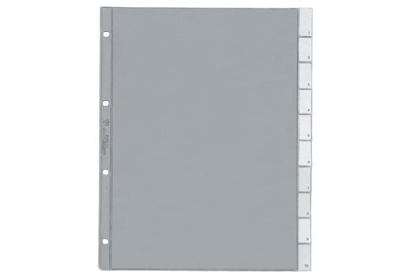 KOLMA Zeigebuchtasche A4 56.110.20 mit Registertabs, 10-teilig