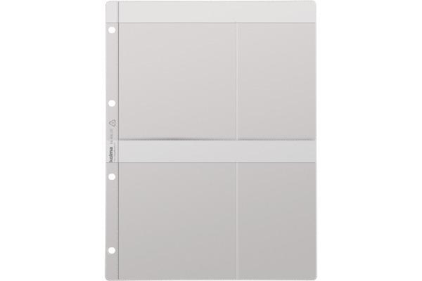 KOLMA Zeigebuchtasche A4 56.406.20 für CD/DVD 5 Stk.