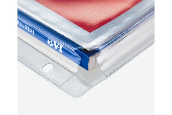 KOLMA Zeigetasche PP ExtraSolid A4 56.622.20 transparent, 20mm, Voluma 5 Stück