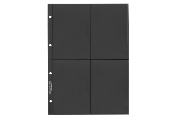 KOLMA Zeigebuchtaschen A4 57.648.06 schwarz 10 Stück
