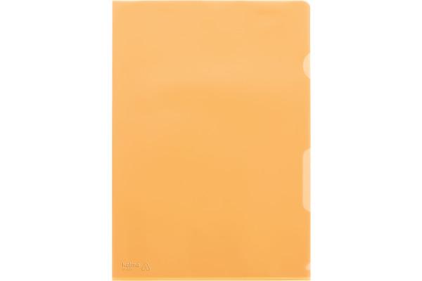 KOLMA Sichthüllen VISA A4 59.433.12 orange 10...