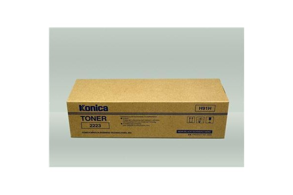 KONICA Toner schwarz 2223
