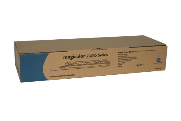 KONICA Resttonerbehälter  4524811 Magicolor 7300 2 Stück