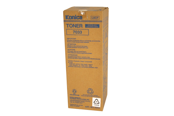 KONICA Toner schwarz 7033
