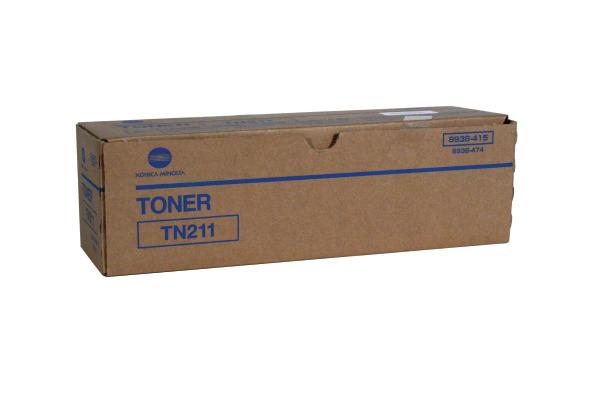 KONICA Toner-Modul TN-211 schwarz 8938415 Bizhub 250