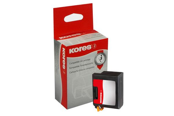 KORES Druckkopf schwarz BX2/BX3 zu Canon C20/30/50 27ml