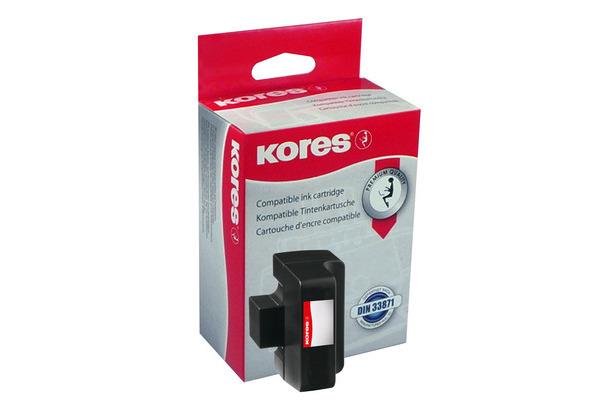 Kores Tinte G1700HCBK ersetzt hp C8719EE hp No.363, schwarz