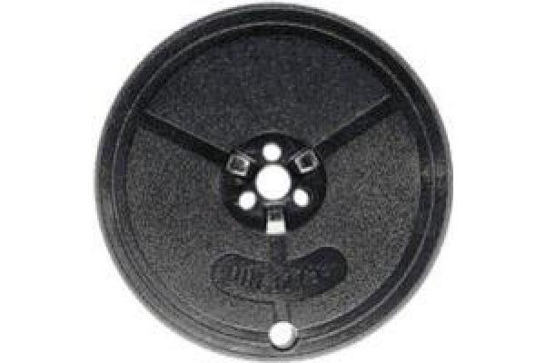 KORES Farbband Seide schwarz Gr.1 Norm 13mmx10m