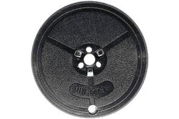 KORES Farbband Seide schwarz/rot Gr.1 Norm 13mmx10m