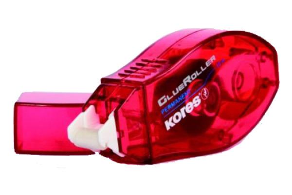 KORES Kleberoller 8mmx10m K38112 permanent