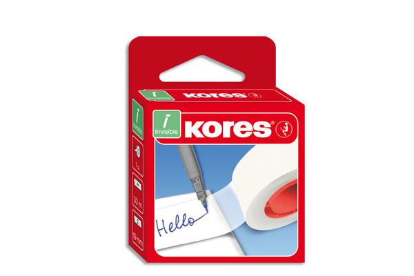 KORES INVISIBLE Klebefilm 33mx19mm K53309 beschreibbar