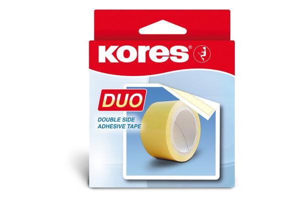 KORES DUO-TAPE Klebefilm 5mx30mm K55530 doppelseitig