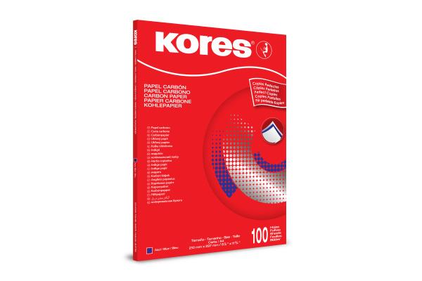 KORES Durchschreibpapier 1200 A4 KD78478 blauschreibend 100 Blatt