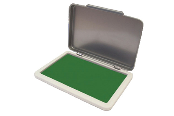 KORES METALLICA Stempelkissen Gr.2 SF71552 grün 7x11cm